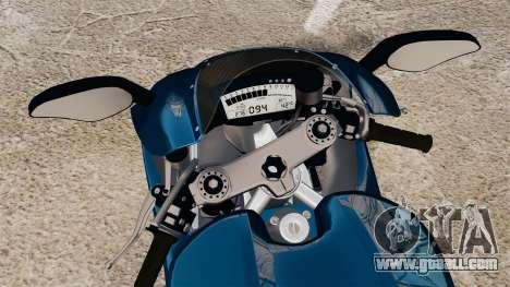 Ducati Desmosedici RR 2012 for GTA 4 right view