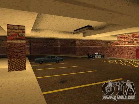 New interior police HP garage for GTA San Andreas seventh screenshot