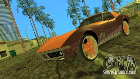 Chevrolet Corvette C3 Tuning for GTA Vice City