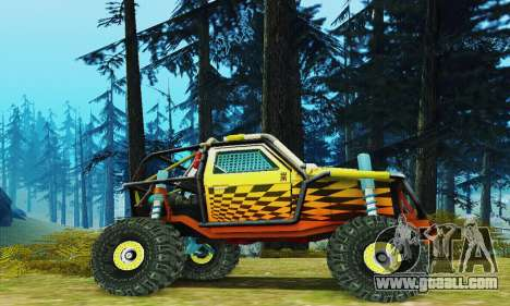 UAZ prototype joker for GTA San Andreas left view