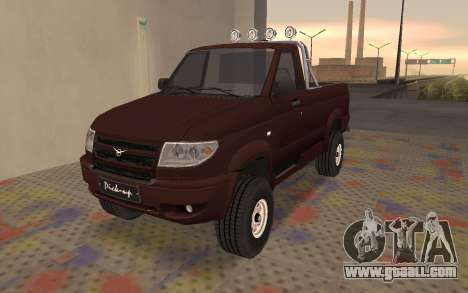 Uaz Patriot for GTA San Andreas