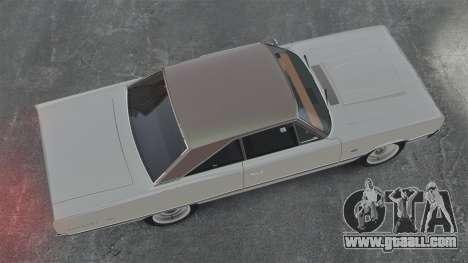 Dodge Coronet 440 1967 for GTA 4 right view
