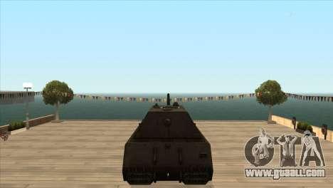 Panzerkampfwagen VIII Maus for GTA San Andreas forth screenshot