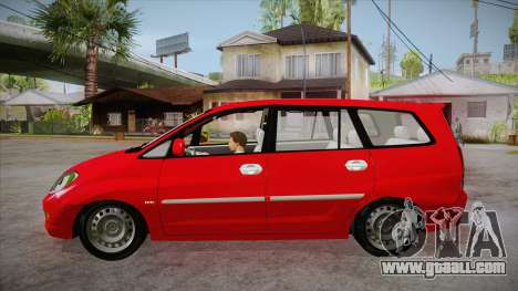 Toyota Kijang Innova 2.0 G v3.0 Steel Rims for GTA San Andreas left view
