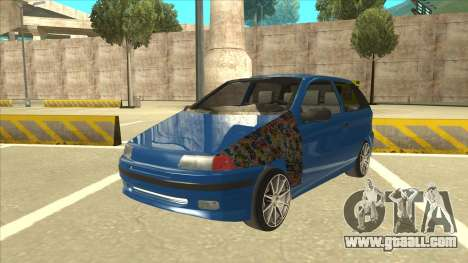 Fiat Punto MK1 Tuning for GTA San Andreas