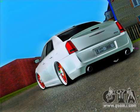 Chrysler 300 c SRT-8 MANSORY_CLUB for GTA San Andreas back left view