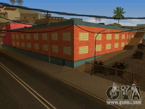 New textures at Jefferson for GTA San Andreas seventh screenshot