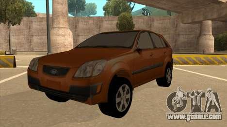 KIA RIO II 5 DOOR for GTA San Andreas