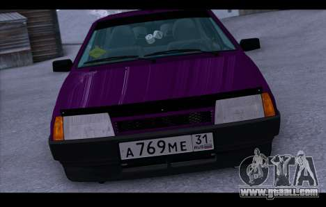 VAZ 21093 for GTA San Andreas right view