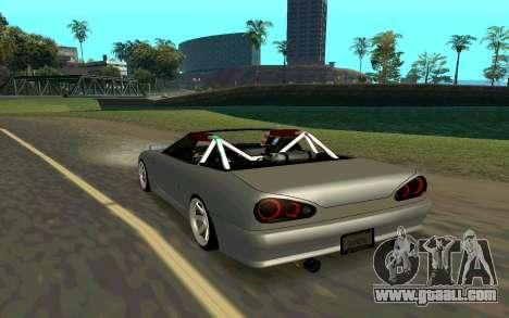 Elegy Cabrio for GTA San Andreas left view