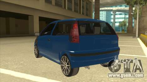 Fiat Punto MK1 Tuning for GTA San Andreas back view