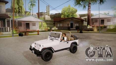 Jeep Wrangler V10 TT Black Revel for GTA San Andreas inner view