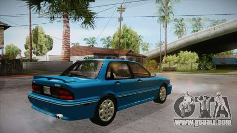 Mitsubishi Galant VR-4 (E39A) 1987 IVF APT for GTA San Andreas right view