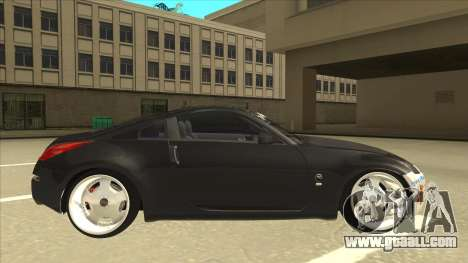 Nissan 350z SimpleDrift for GTA San Andreas back left view