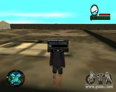 Cleo Gun for SA:MP (dgun) for GTA San Andreas second screenshot