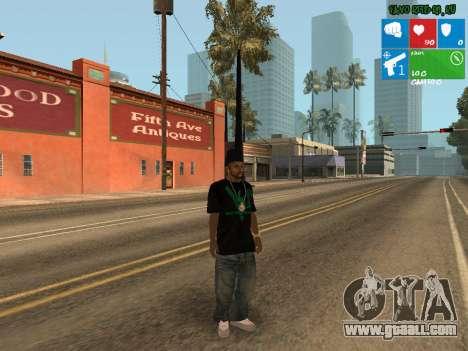 New drug dealer Afro for GTA San Andreas