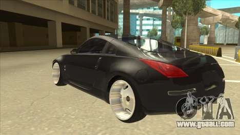 Nissan 350z SimpleDrift for GTA San Andreas back view