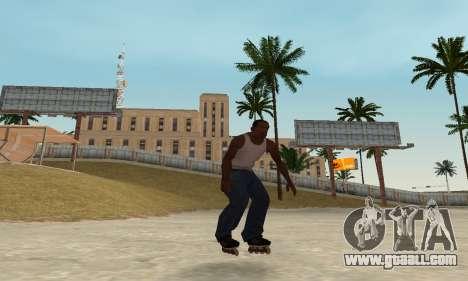 Roller-skates for GTA San Andreas forth screenshot