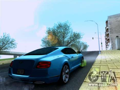 Bentley Continental GT Final 2011 for GTA San Andreas left view