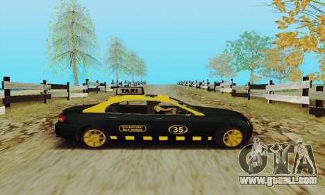 Mercenaries 2 Taxi for GTA San Andreas back view