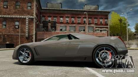 Cadillac Cien XV12 [EPM] for GTA 4 left view
