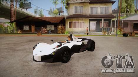 BAC Mono 2011 for GTA San Andreas