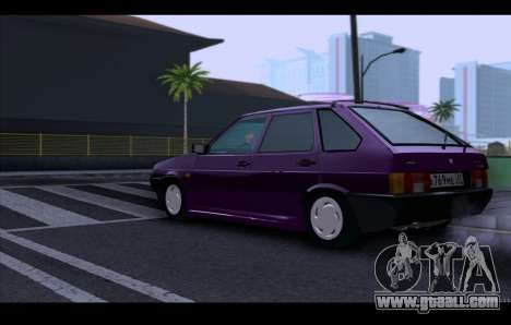 VAZ 21093 for GTA San Andreas inner view