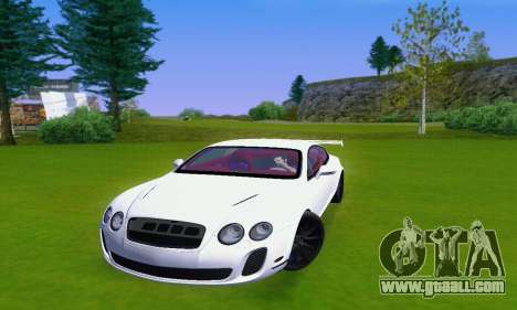 Bentley Continental Extremesports for GTA San Andreas