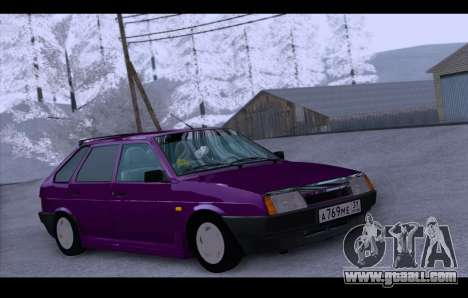 VAZ 21093 for GTA San Andreas back left view