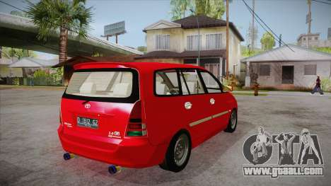 Toyota Kijang Innova 2.0 G v3.0 Steel Rims for GTA San Andreas right view