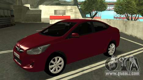 Hyundai Solaris for GTA San Andreas