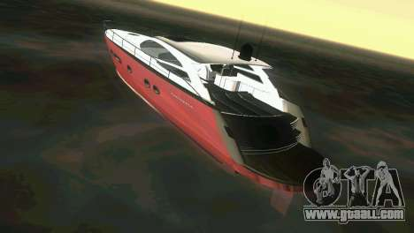 Cartagena Delight Luxury Yacht for GTA Vice City right view