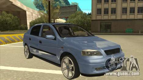 Opel Astra G Stock for GTA San Andreas left view