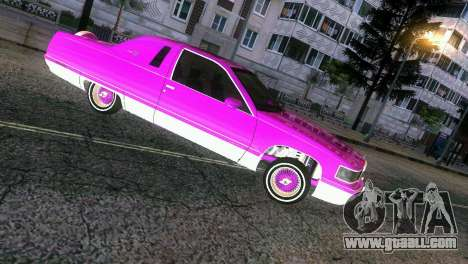 Cadillac Fleetwood Coupe for GTA Vice City back left view