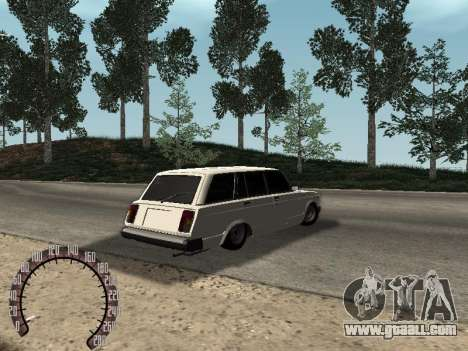 VAZ 2104 for GTA San Andreas back left view