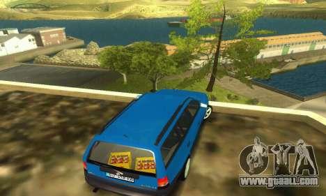 Opel Astra F Caravan for GTA San Andreas back left view