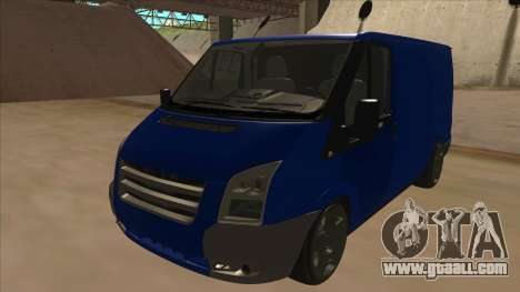 Ford Transit Swb 2011 Stance for GTA San Andreas
