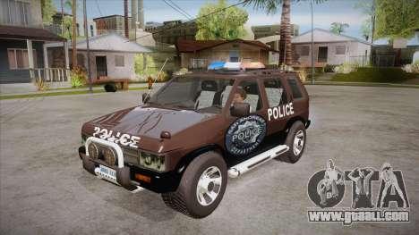 Nissan Terrano RB26DETT Police for GTA San Andreas