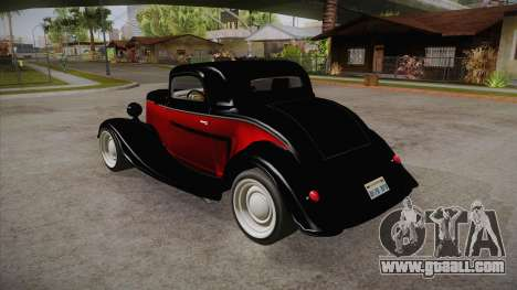 Hot Rod Extreme for GTA San Andreas back left view