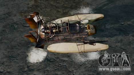 Air boat for GTA 4 right view