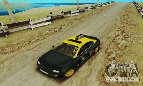 Mercenaries 2 Taxi for GTA San Andreas left view