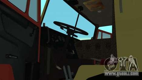 KAMAZ 4310 hazard lights for GTA San Andreas right view