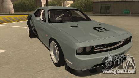 Dodge Challenger Drag Pak for GTA San Andreas left view