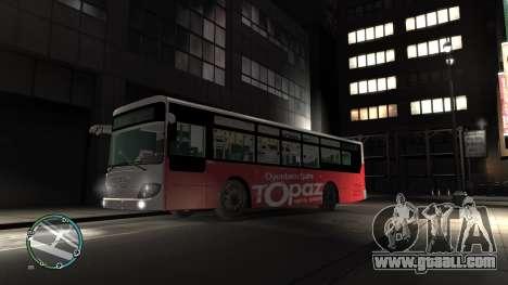 Daewoo BC211MA Baku for GTA 4 left view
