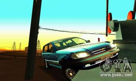 21236 Chevrolet Niva VAZ for GTA San Andreas side view