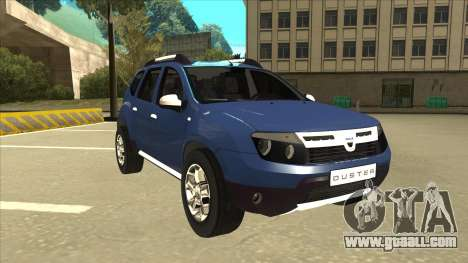 Dacia Duster 2014 for GTA San Andreas left view