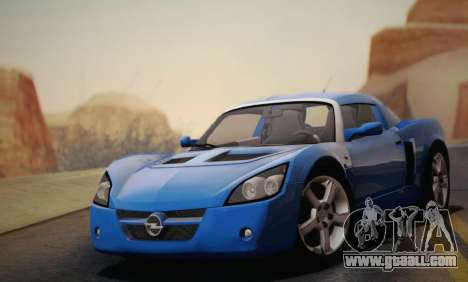 Opel Speedster Turbo 2004 for GTA San Andreas wheels