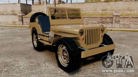 Willys MB for GTA 4