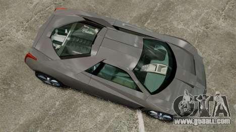 Cadillac Cien XV12 [EPM] for GTA 4 right view