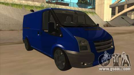 Ford Transit Swb 2011 Stance for GTA San Andreas left view